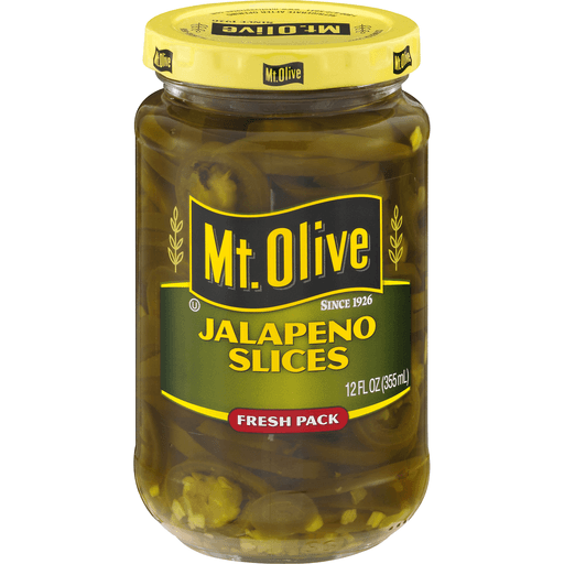 Mt Olive Jalapeno Slices, Fresh Pack