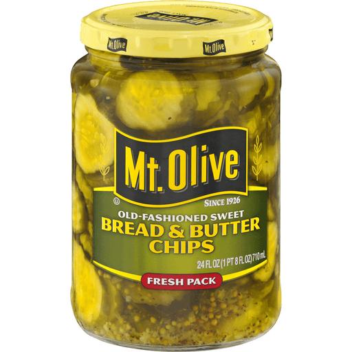 Mt Olive Bread & Butter Chips, Fresh Pack