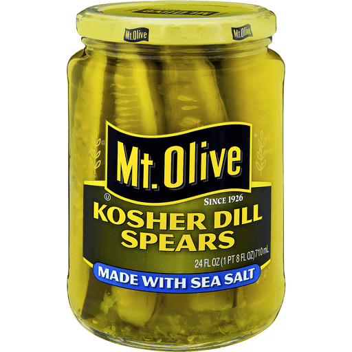 Mt Olive Dill Spears, Kosher