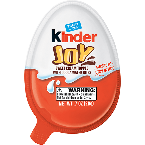 Kinder Joy Candy 0.7 oz. Container