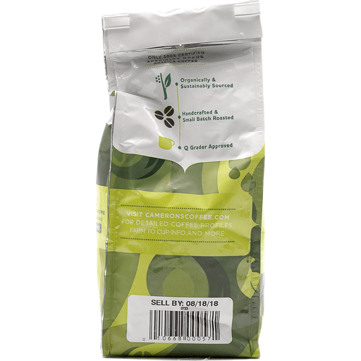 Cameron's Organic Columbian Whole Bean