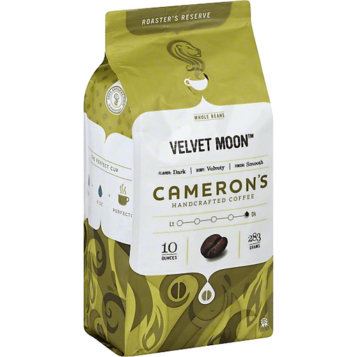 Camerons Coffee, Handcrafted, Whole Beans, Velvet Moon