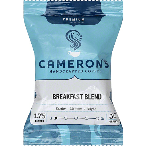 Camerons Coffee, Handcrafted, Breakfast Blend