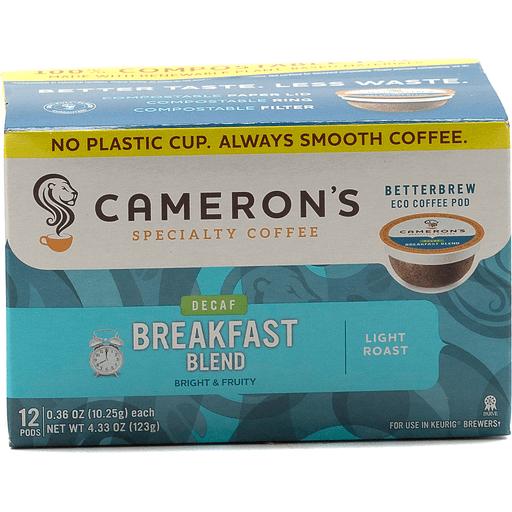 Camerons Single Serve Breakfast Decaf Filters