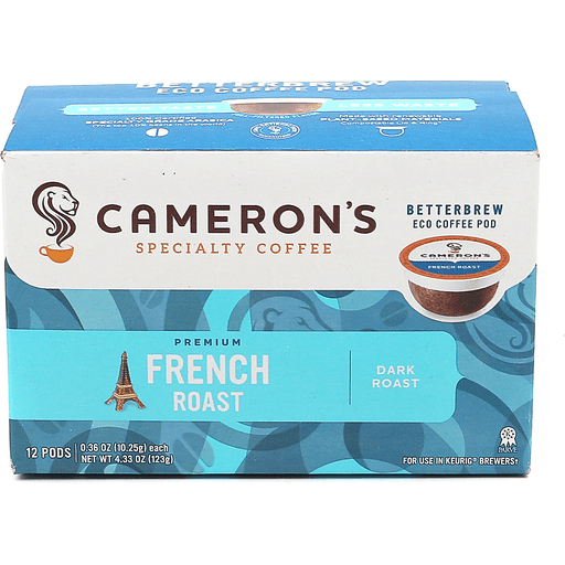 Camerons Single Serve French Roast
