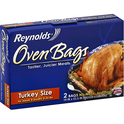 Reynolds Kitchens Oven Bags Turkey Size | Reasors Foods