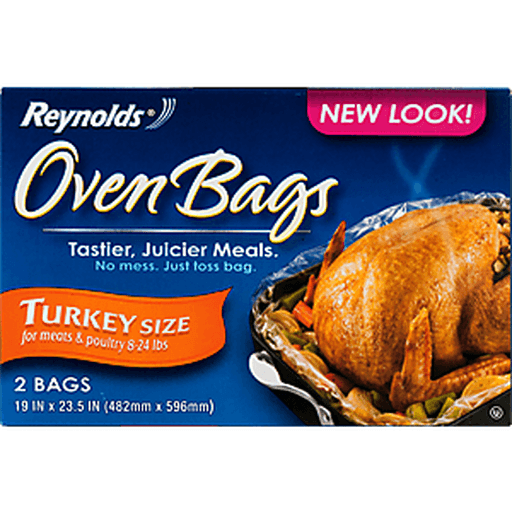 Reynolds Oven Bags, Turkey Size