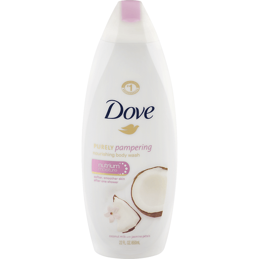 Dove Purely Pampering Body Wash Nourishing Coconut Milk With Jasmine Petals Shop Bevmo