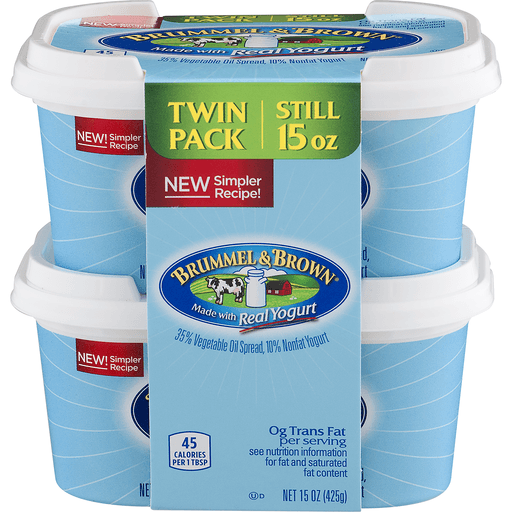 Brummel & Brown Spread Made With Real Yogurt - 2 PK