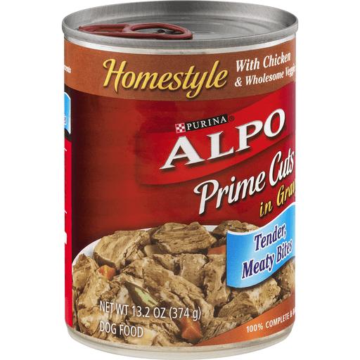 Purina Alpo Prime Cuts Dog Food Chicken