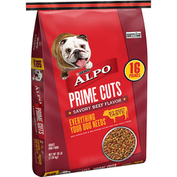 Purina Alpo Prime Cuts Adult Dog Food Savory Beef