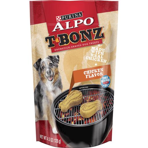 Purina Alpo T-Bonz Dog Treats Chicken Flavor
