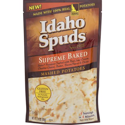 Idaho Spuds Supreme Baked Mashed Potatoes