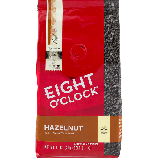 Eight O'Clock Hazelnut Ground Coffee Medium Roast