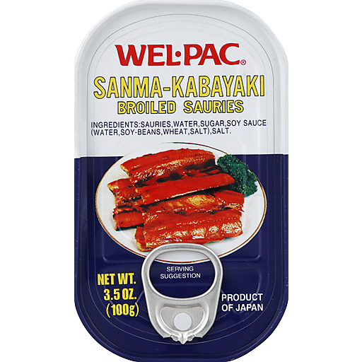 Wel-Pac Broiled Sauries
