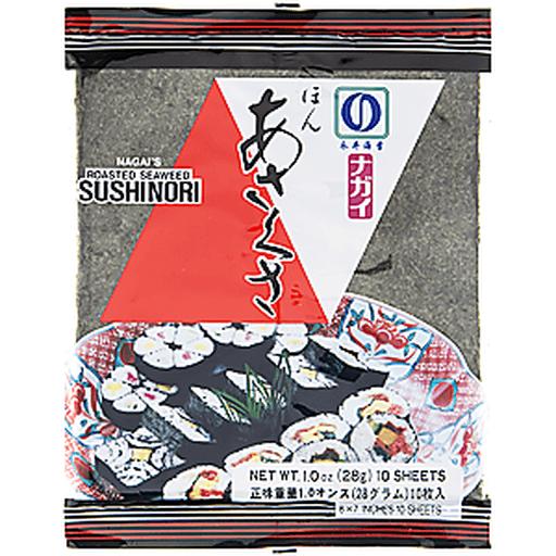 Nagais Sushi Nori, Roasted Seaweed