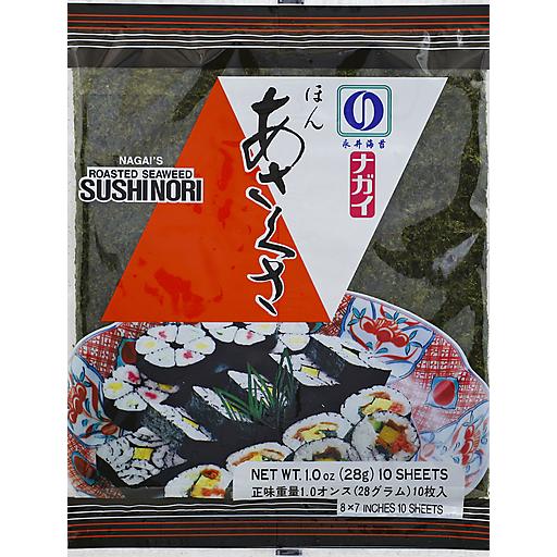 Nagai Seaweed-Roast Yakinori Red