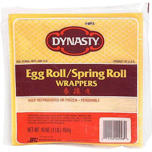 Dynasty Egg Roll Spring Roll Wrappers Eggs Rolls Burritos Foodtown