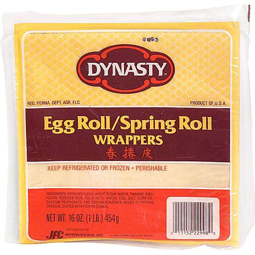 Dynasty Egg Roll Spring Roll Wrappers Eggs Rolls Burritos Foodtown