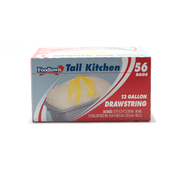3b84dd7ea Foodtown Tall Kitchen Bags, Drawstring