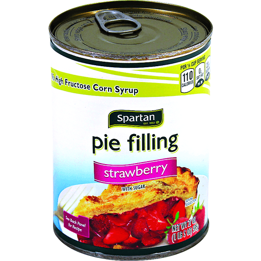 Spartan Strawberry Pie Filling Pie Crusts Filling Martin S Super Markets