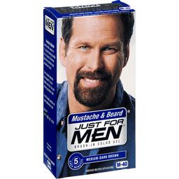 Just For Men Mustache Beard Brush-In Color Gel Haircolor M-40 Medium ...