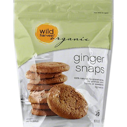 Wild Harvest Organic Ginger Snaps
