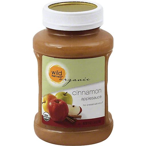 Wild Harvest Organic Applesauce, Cinnamon