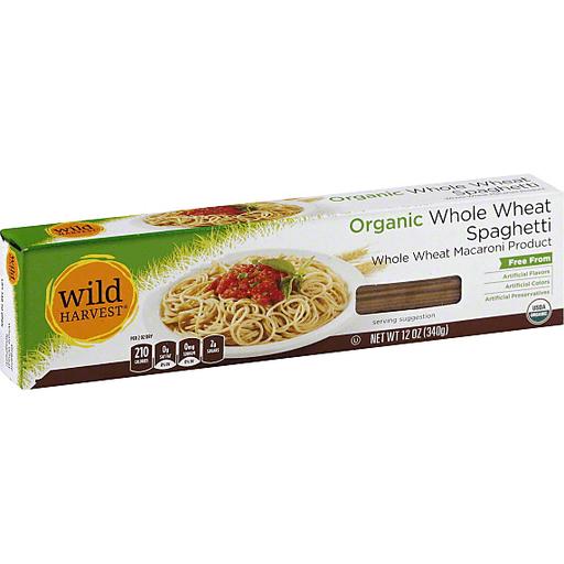 Wild Harvest Spaghetti, Whole Wheat, Organic