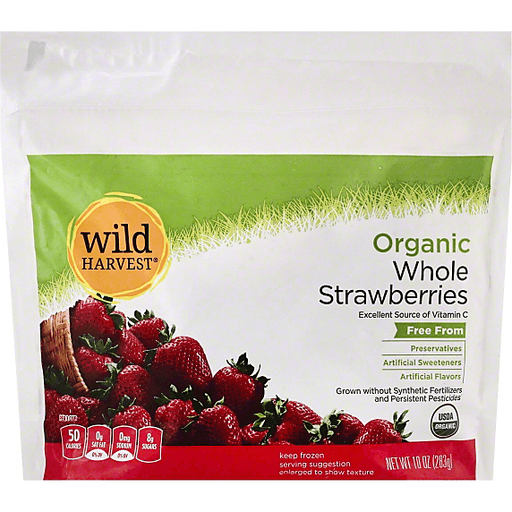Wild Harvest Organic Strawberries, Whole