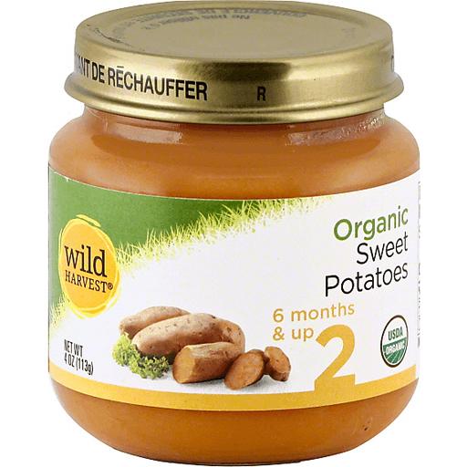 Wild Harvest Organic Sweet Potatoes, 2 (6 Months & Up)
