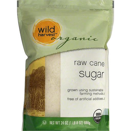 Wild Harvest Sugar, Organic, Raw Cane