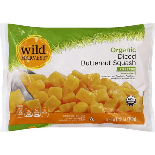 Wild Harvest Butternut Squash, Organic, Diced