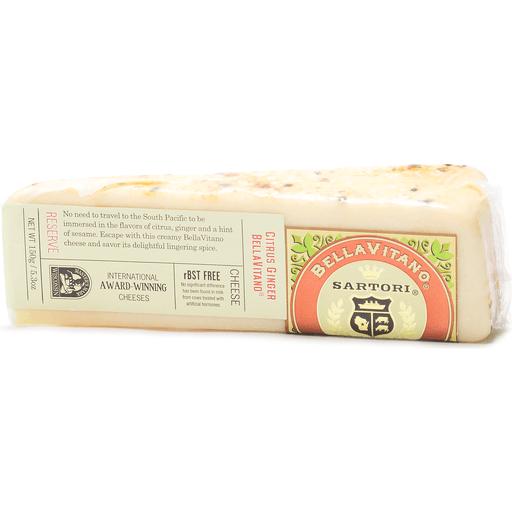 BellaVitano Reserve Cheese, Citrus Ginger BellaVitano