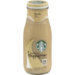 3361ddf56009 Starbucks Frappuccino Vanilla Chilled Coffee Drink 95 fl oz Glass ...