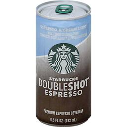 Starbucks Doubleshot Espresso Espresso Amp Cream Light