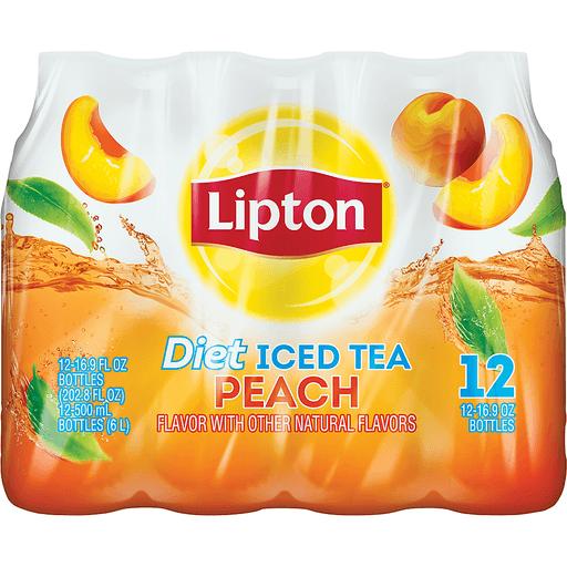 Lipton Iced Tea, Diet, Peach