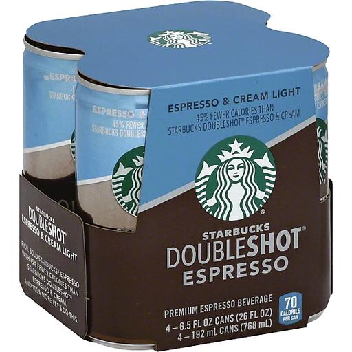 Starbucks Doubleshot Espresso 4 Ct Ptaceks Iga
