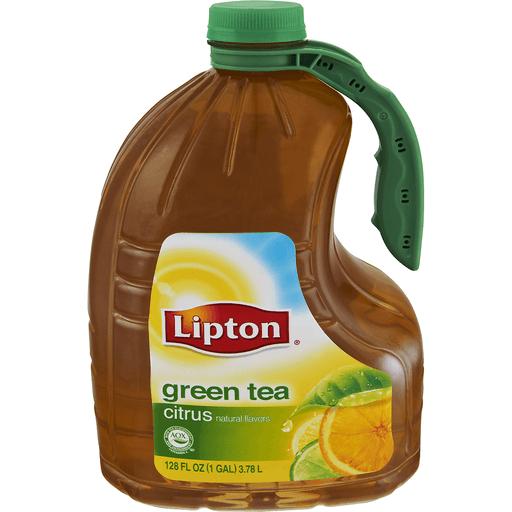 Lipton® Citrus Green Tea 1 gal. Plastic Jug