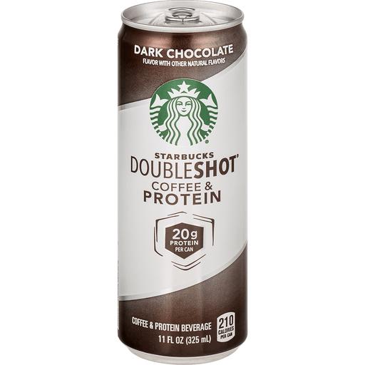 Starbucks Doubleshot Coffee & Protein Beverage, Dark Chocolate