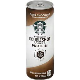 Starbucks Doubleshot Coffee Amp Protein Beverage Dark