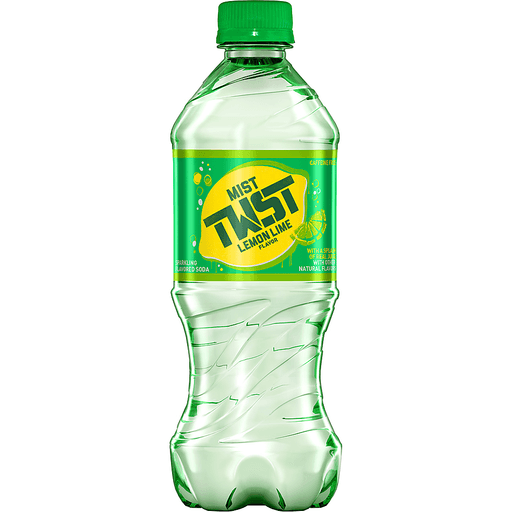 Mist Twist Soda, Sparkling, Lemon Lime Flavor