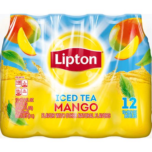 Lipton Iced Tea Mango - 12 PK