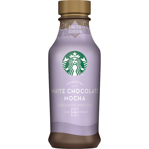 Starbucks® White Chocolate Mocha Espresso Beverage 14 fl. oz. Bottle