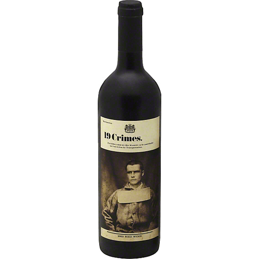 19 Crimes Red Wine 2016