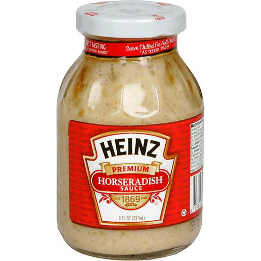 Heinz Horseradish Sauce Premium Condiments Phelps Market