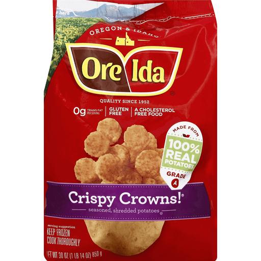 Ore Ida Crispy Crowns!   Pruett's Food