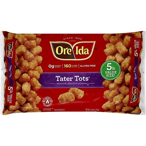 Ore Ida Tater Tots, Value Size! | My