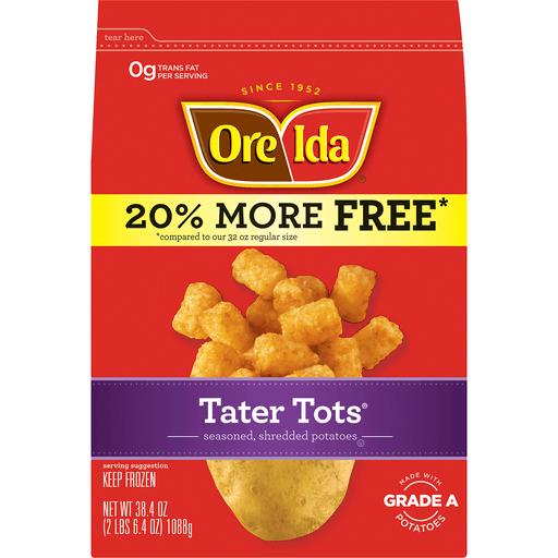 Ore-Ida® Tater Tots® 38.4 oz. Bag | Ron