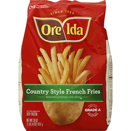 Ore-Ida French Fries, Country Style